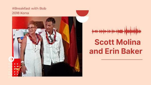2018 Breakfast with Bob from Kona: Scott Molina and Erin Baker