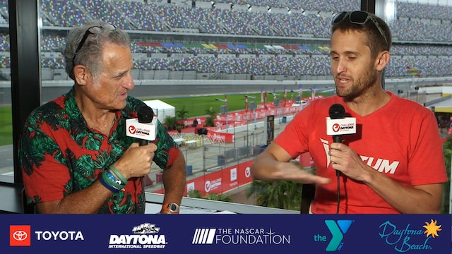 Breakfast with Bob at Challenge Daytona: Kevin Collington