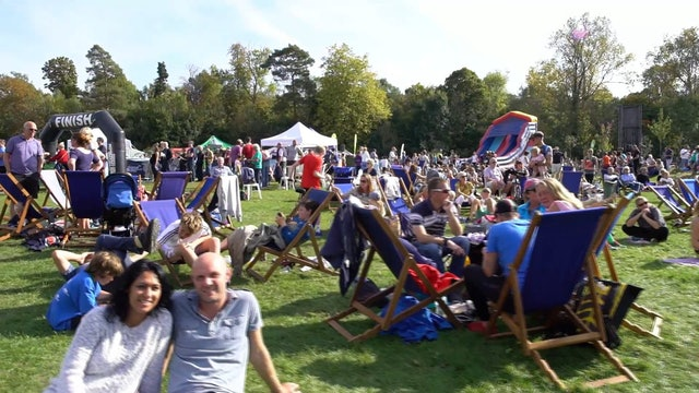 The Hever Castle Triathlon 2017