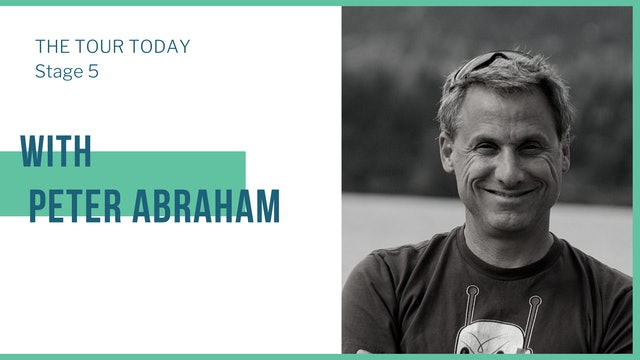 Stage 5 with guest, Peter Abraham