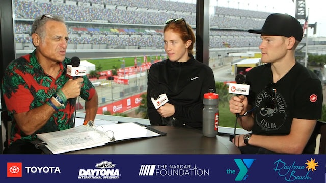 Breakfast with Bob at Challenge Daytona: Paula Findlay and Eric Lagerstrom