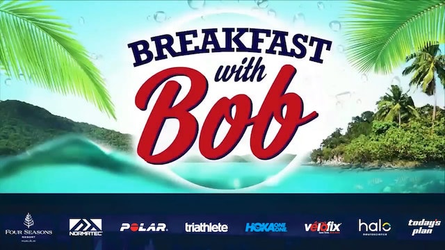 2018 Championship Edition of Breakfast with Bob from Kona: Women's Champion Daniela Ryf