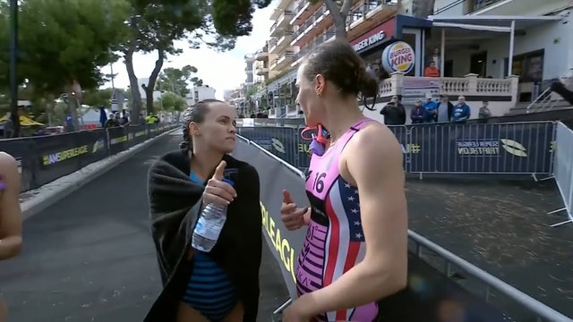 Super League Triathlon Mallorca 2018: Women's Triple Mix - Stage 3