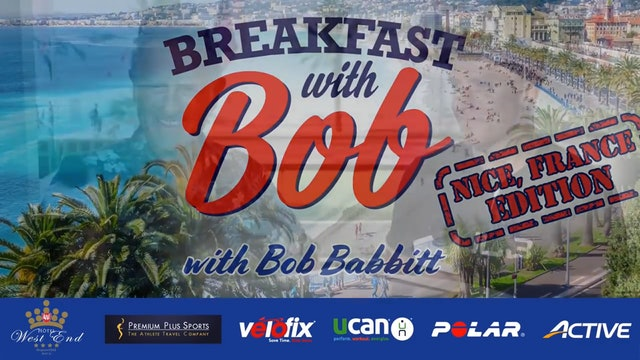 Breakfast with Bob: Nice, France Edition: Kristian Blummenfelt