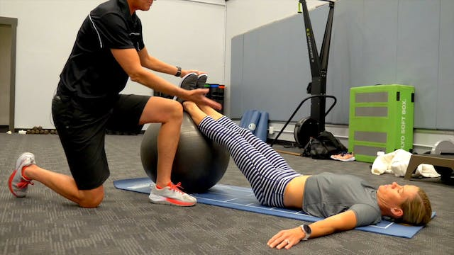 Stability Ball Core Routine