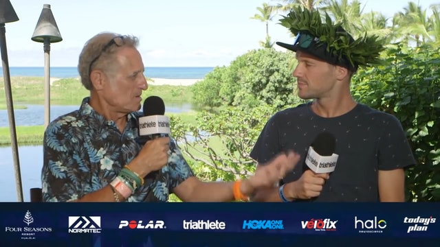 2018 Championship Edition of Breakfast with Bob from Kona: Men's Champion Patrick Lange