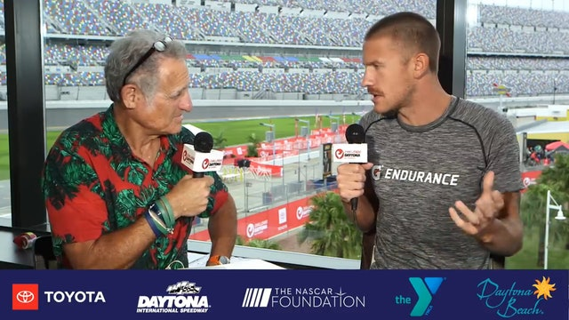 Breakfast with Bob at Challenge Daytona: Lionel Sanders