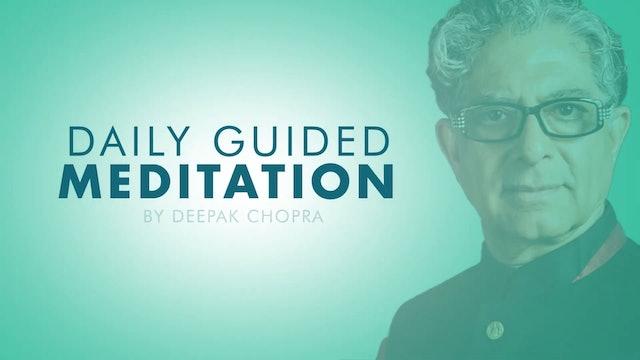 Meditation For Self Awareness - Daily Guided Meditation by Deepak Chopra