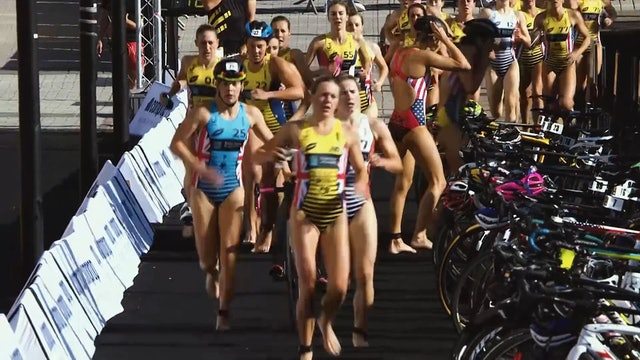Super League Triathlon Singapore 2019: Day 1 Women's Eliminator