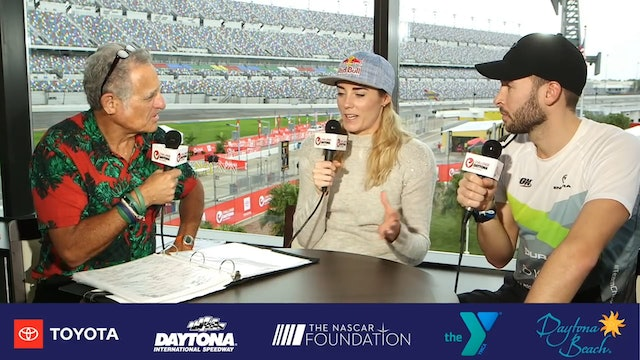 Breakfast with Bob at Challenge Daytona: Lucy Charles-Barclay and Reece Charles-Barclay