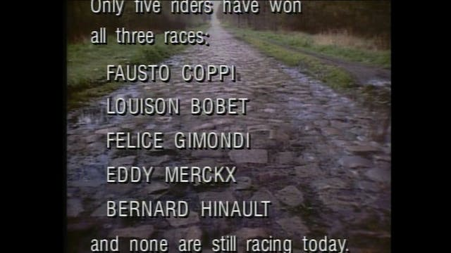 2003 Paris Roubaix: Part 1