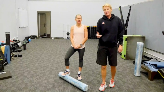Proative Foam Rolling Prior to a Workout