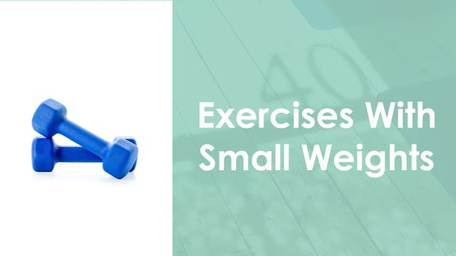 Exercises with Small Weigths