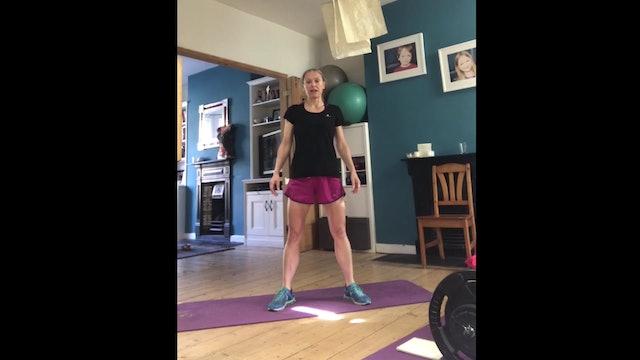 Mel's HIIT workout