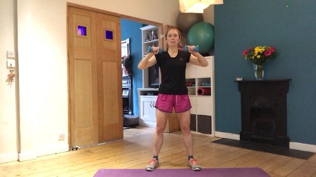 Mel's 10 min timed arm workout