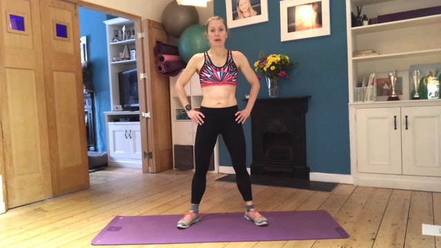 Mel's 20 min lower body workout