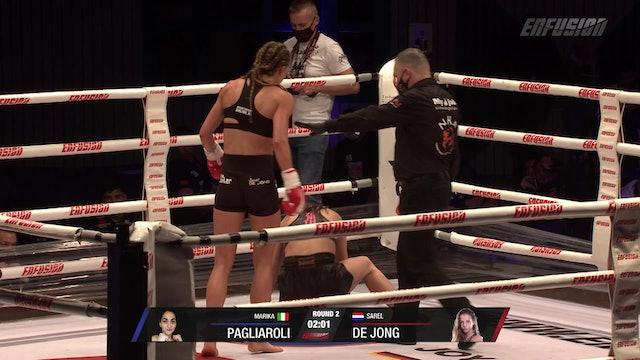 Enfusion #99 Marika Pagliaroli (ITA) VS Sarel De Jong (NLD) 17.10.20