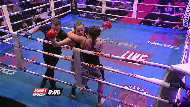 Enfusion#35  Rachida Bouhout (NLD) vs Anke Van Gestel (BEL) 19.12.2015