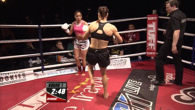 Enfusion #03 Amanda Kelly (GBR) vs Fatima Adib (FRA) 30.03.2013