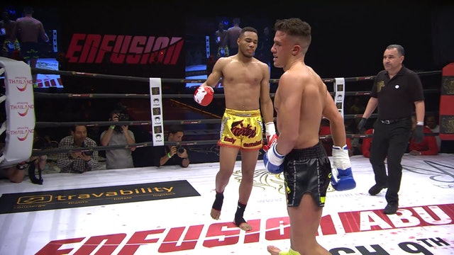 Enfusion #63 Endy Semeleer (NLD) vs Redouan Laarkoubi (NLD) 09.03.2018