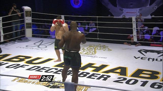 Enfusion #45 Ismael Lazaar (MAR) vs Gideon Ogenyi Ogaba (NGA) 09.12.2016