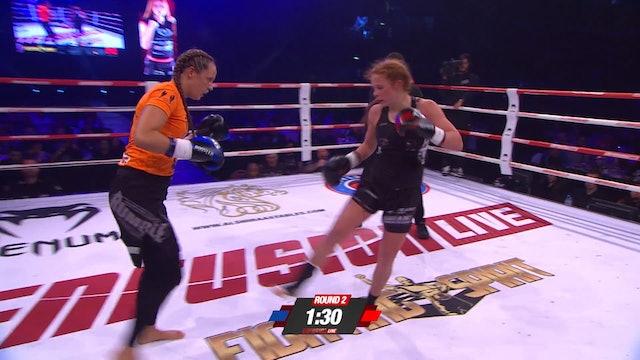 Enfusion #49, Essillia Wurms (NLD) vsKhadija Charradi (MAR) 29.04.2017