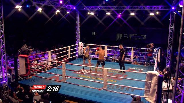 Enfusion #32  Nordin Ben Moh (MAR) vs Sergio Sanchez (ESP) 10.10.2015