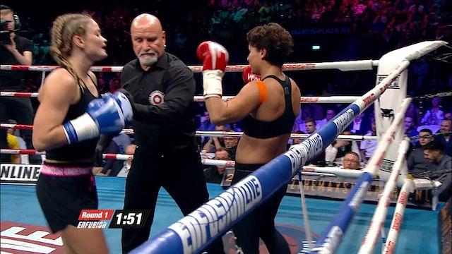 Enfusion #34 Lorena Klijn (NLD) vs Mellony Geugjes (NLD)  21.11.2015