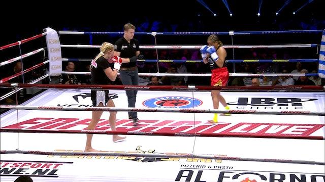 Enfusion #41 Sheena Widdershoven (NLD) vs Najat Hasnouni Alaoui (MAR) 17.09.2016