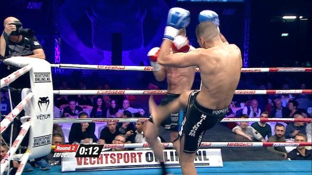 Enfusion  #34 Artur Kyshenko (UKR) vs Hicham El Gaoui (MAR)  21.11.2015