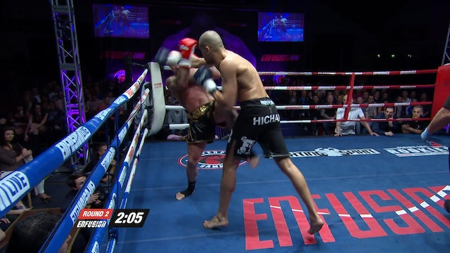 Enfusion #15 Hicham El Gaoui (MAR) vs Aidan Brooks (IRL) 22.03.2014