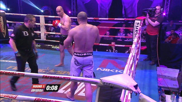 Enfusion #35 Mohamed Boubkari (MAR) vs Mathieu Kongolo (BEL) 19.12.2015
