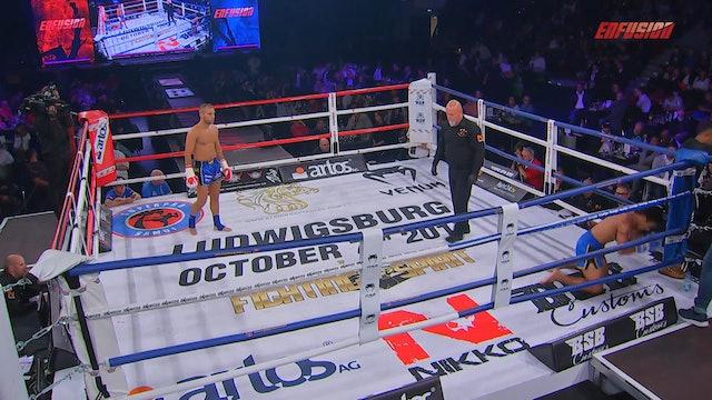 Enfusion #54 Andrej Bruhl (DEU) vs Phanlit Banchamek (THA) 07.10.2017