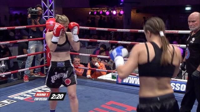 Enfusion  #18 Lindsay Scheer  (USA) vs Anke Van Gestel  (BEL)  25.05.2014