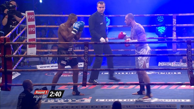 Enfusion #17  Ondrej Hutnik (CZE) vs Eduardo Mendes (CPV) 26.04.2014