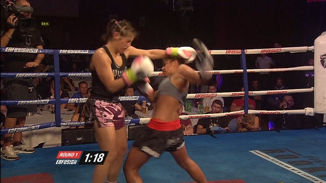 Enfusion #30  Ferial Ameeroedien (ZAF) vs Soraya Haurissa (IDN) 11.07.2015