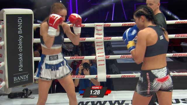 Enfusion #75  Monika Chochliková (SVK) vs Sylwia Juszkiewicz (POL) 01.12.2018