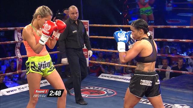 Enfusion #17  Lucia Krajčovič (SVK) vs Denise Kielholtz (NLD) 26.04.2014