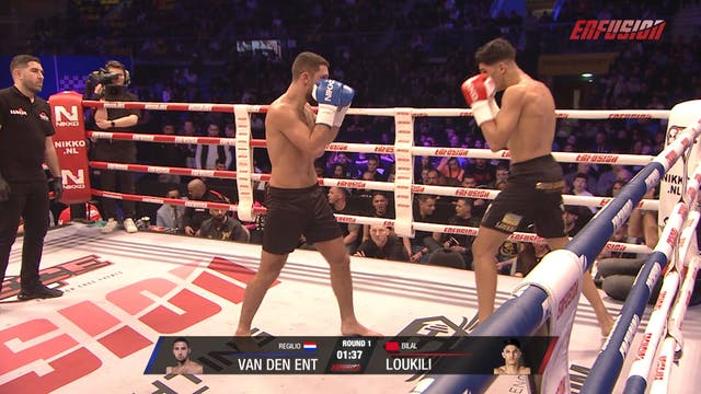Enfusion #96  Bilal Loukili (MAR) vs ...