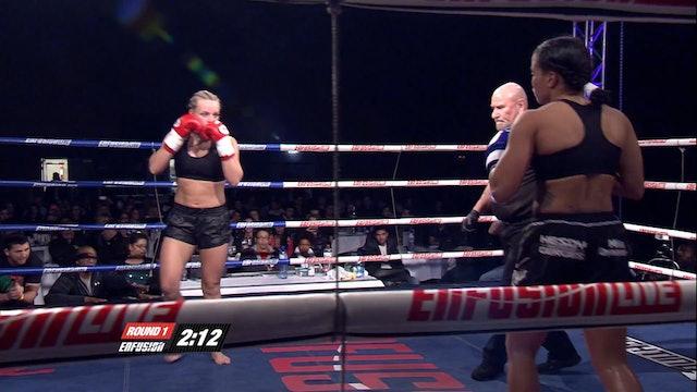 Enfusion #12  Ilona Wijmans (NLD) vs Denise Kielholtz (NLD) 12.01.2014