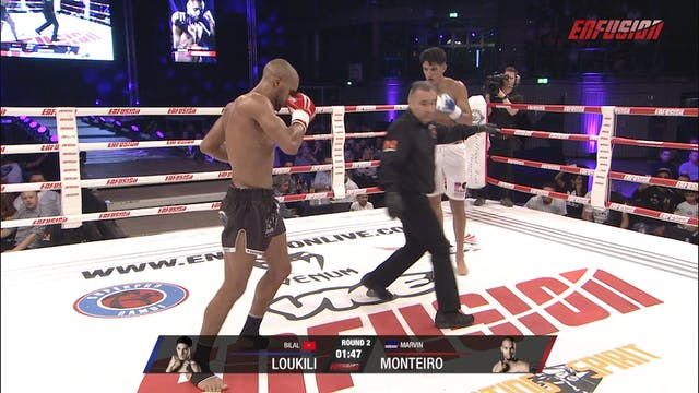 Enfusion #89  Bilal Loukili (MAR) vs ...