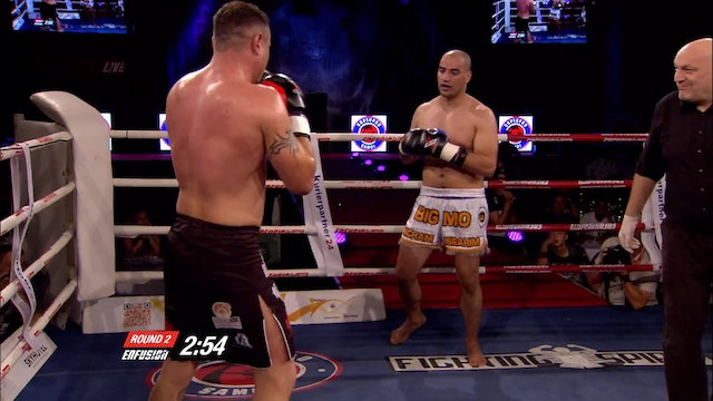 Enfusion  #21 Niko Falin (RUS) vs Mohamed Boubkari (MAR) 04.10.2014