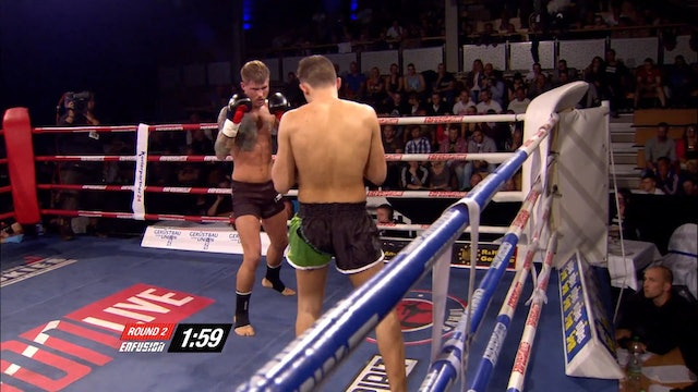 Enfusion  #21 Leo Bonniger  (DUE) vs Mohammed Jarraya (MAR)  04.10.2014