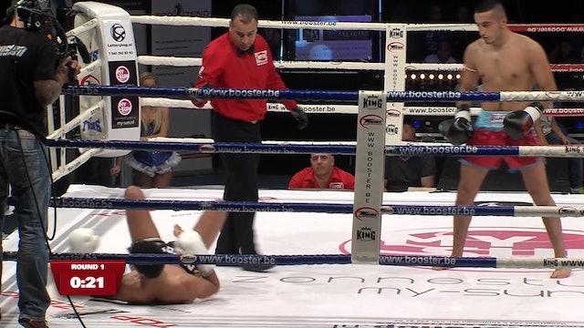 Rookies - Tayfun Ozcan (TUR) vs Hicham Boubkari (MAR) 22.09.2012