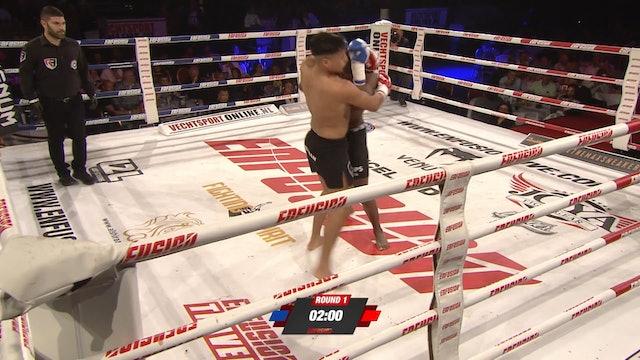 Enfusion #85  Marcelino Kemna (SUR) vs Khalid El Moukadam (MAR) 08.06.2019