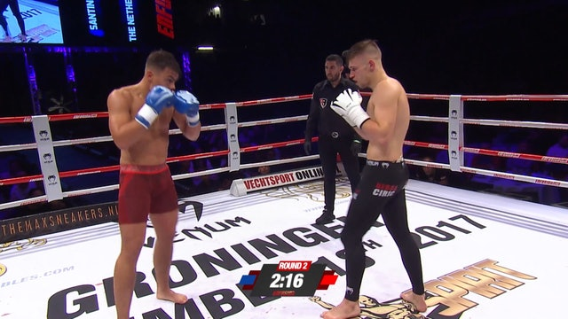 Enfusion #56 Robin Ciric (SRB) vs Santino Verbeek (NLD) 18.11.2017