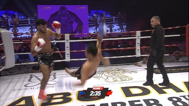 Enfusion #58 Yassin Baitar (BEL) vs Petchchaiyo Banchamek (THA) 08.12.2017