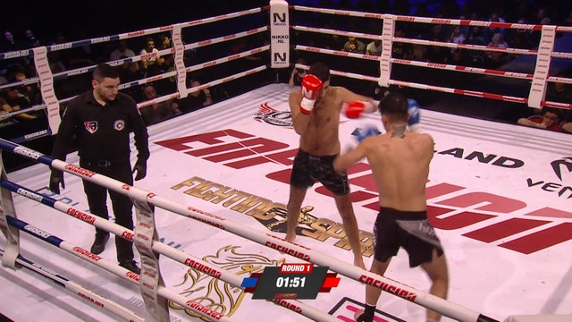 Enfusion #78  Youssef El Haji (BEL) vs Melvin Wassing (IDN) 23.02.2019