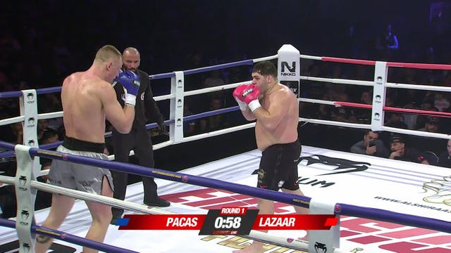 Enfusion  #46 Ismael Lazaar (MAR) vs ...