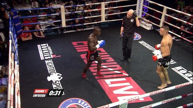 Enfusion  #16  Kevin Miruka (KEN) vs Ismael Benali (MAR) 05.04.2014